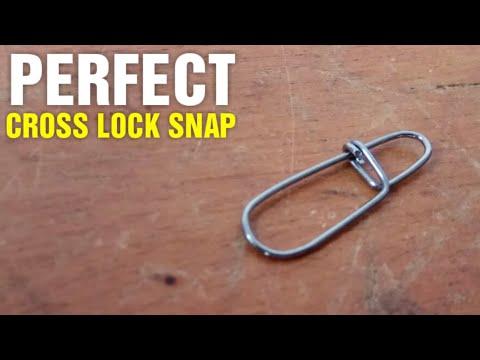 Fishing Hack #6 - DIY Cross Lock Snap