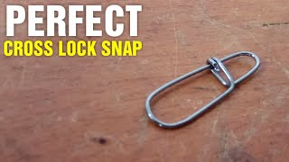 Fishing Hack #6 - DIY Cross Lock Snap