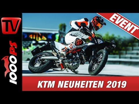 KTM Neuheiten 2019 EICMA - 690 SMC R, 690 Enduro R & 790 Adventure Modelle - First Look