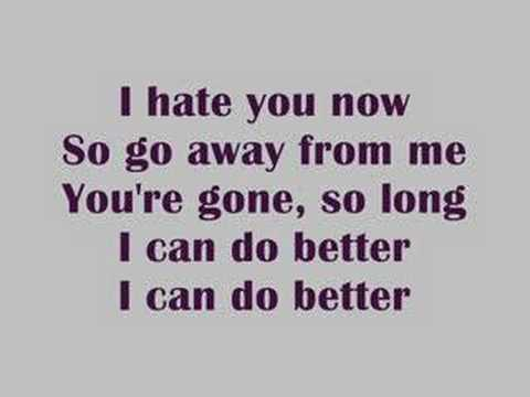 Avril Lavigne-I Can Do Better:歌詞+中文翻譯