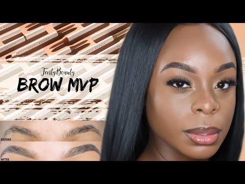 NEW BROW MVP | Full Demo, Review + Eyebrow Tutorial | ShaniceAlisha . thumbnail