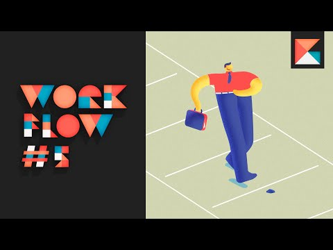 WORKFLOW #05: Character animation using Rough Animator, After Effects and Cinema 4D Lite