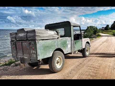 The Baltic Express Part 7. Land Rover Series One Road Trip.