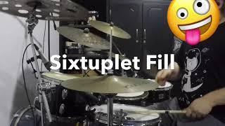 Gospel Drum Fill | Easy Sixtuplet Chop by Carlos Girón