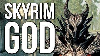 Skyrim Special Edition - God Weapons & Armour MOD Fun