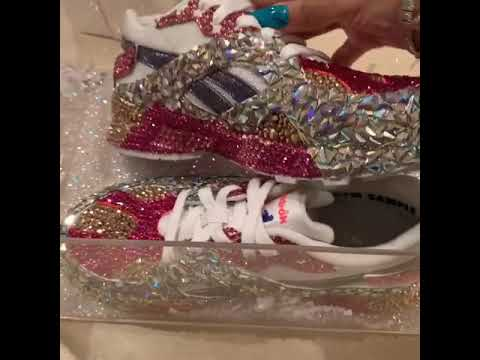 6030677c6a7c2d Cardi B Shows Off Her And Kulture Custom Made Reebok Sneakers — Amebo Book