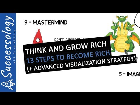 """Think And Grow Rich"" - Animated Summary + Powerful Visualization Technique"