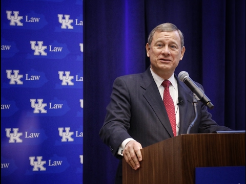 Chief Justice John Roberts Visits the University of Kentucky