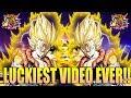 3 LR PULLS IN 1 VIDEO ?!?  | 3rd Year Anniversary LR Gogeta Dokkan Fest | Dragonball Z Dokkan Battle