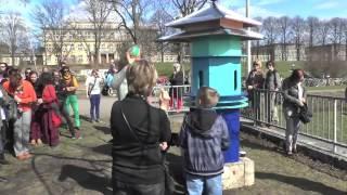 Einweihung der OHANA Installation - Eröffnung des Leipziger Gartenprogramms 2013