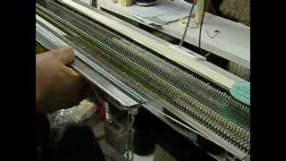Using The Garter Bar On The Knitting Machine By Carole Wurst