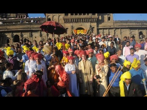 Royal Wedding: Yashwant Rao Holkar, Nairika Godrej Get Married At The Maheshwar Fort