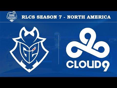 G2 vs Cloud9 | RLCS Season 7 - North America [4th May 2019]