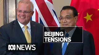 Scott Morrison dismisses concerns China-Australia tensions have weakened economic bonds | ABC News