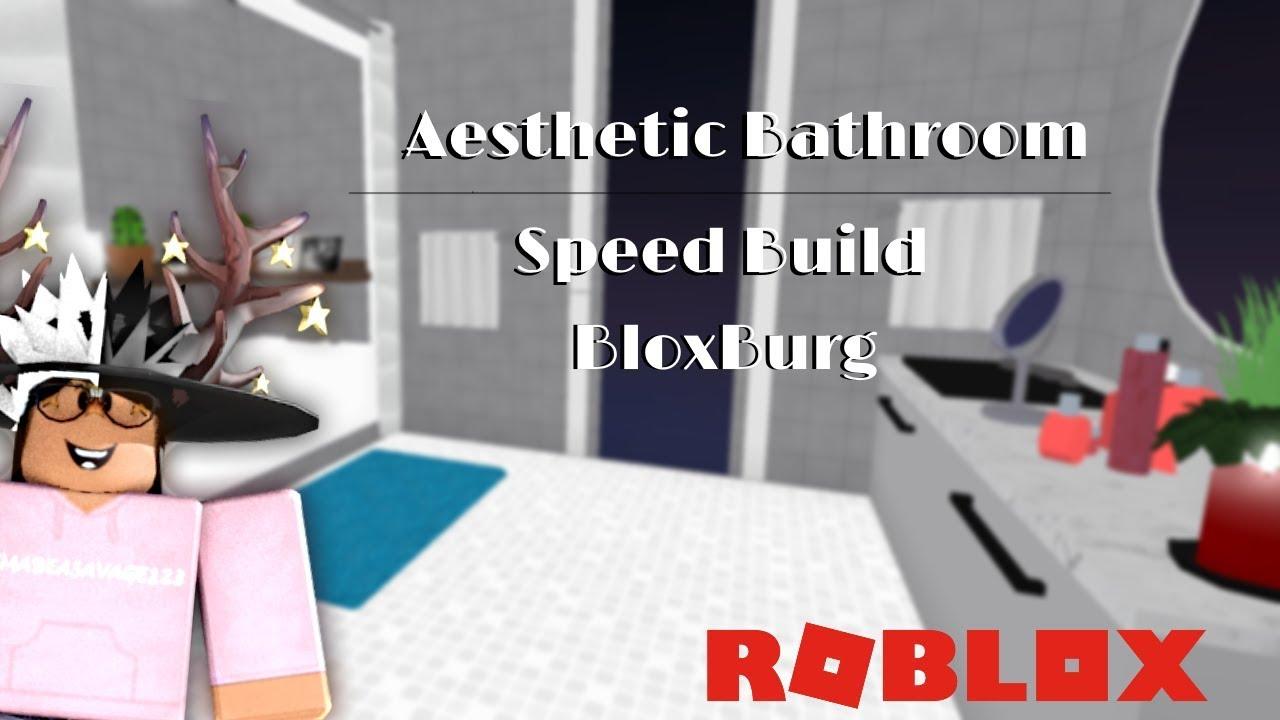Aesthetic Bathroom | Value: 6k | ROBLOX BloxBurg - YouTube