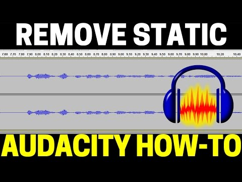 How To Remove Static From Audio Recordings Using Audacity - Mic Buzzing Noise Removal Tutorial