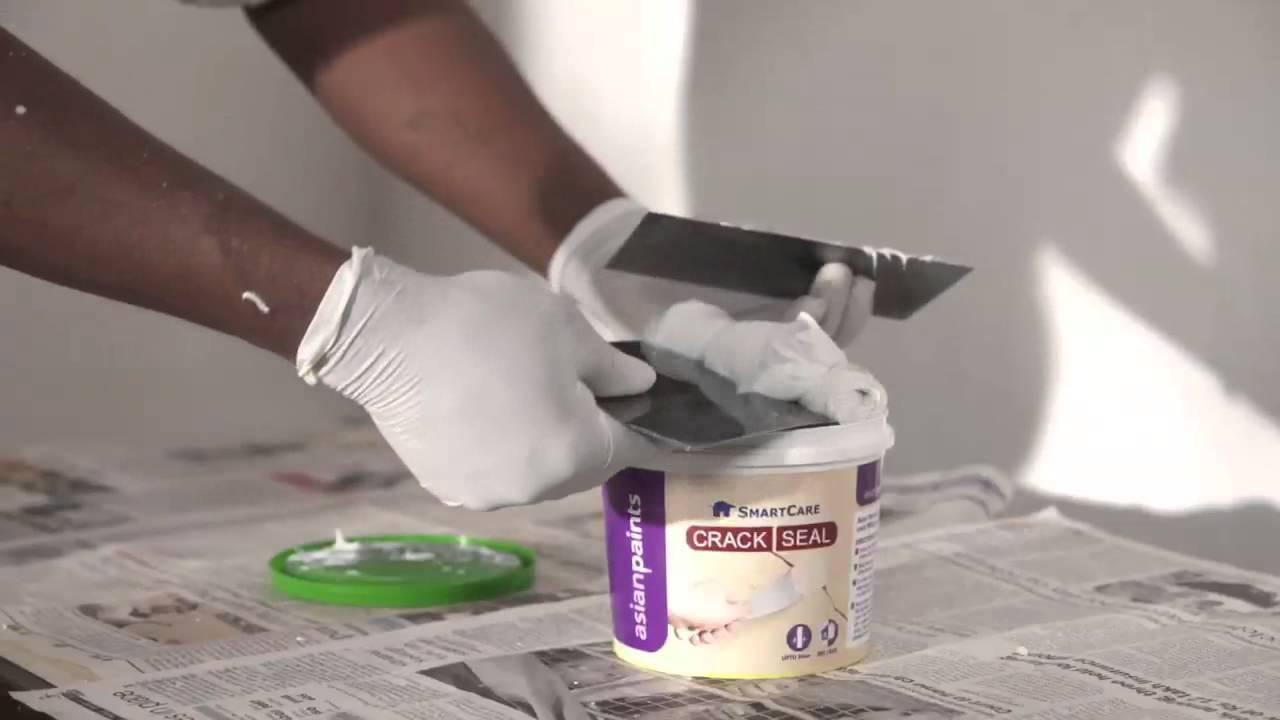Long lasting homes SmartCare Crack Seal  YouTube