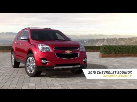 Phillips Chevrolet - Equinox Cargo Space- Interior Flexibility - Chicago New Car Dealership