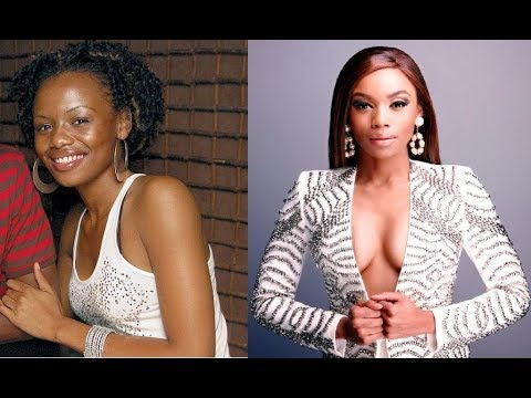 Top 10 SA Female Celebrities Before and After Fame, Bonang, Minenhle