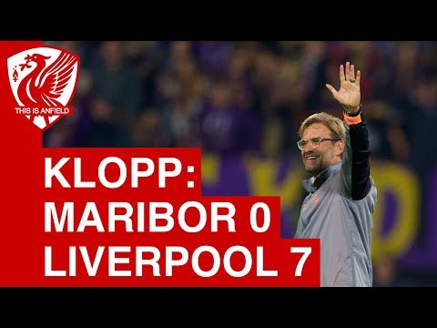 Maribor 0-7 Liverpool | Jurgen Klopp Post Match Press Conference