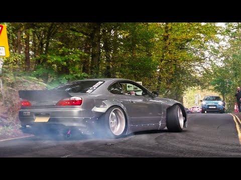 German vs. Japanese Cars Leaving a Car Meet - November 2019