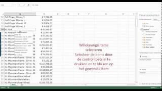 Excel Filter methodes