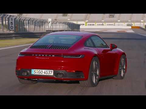 Porsche 911 Carrera 4S Design in Guards Red