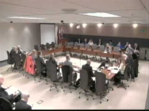 "Durham Region Finance & Admin meeting - clip re new ""closed meeting protocol""March 29, 2016"