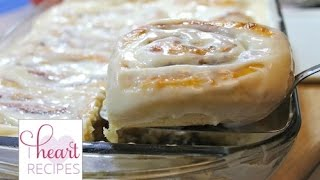 How To Make Classic Cinnamon Rolls - I Heart Recipes