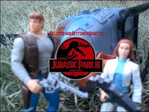 Jurassic Park III: SUPREMACY BEGINS (Toy Movie) Deleted Scene Restored!
