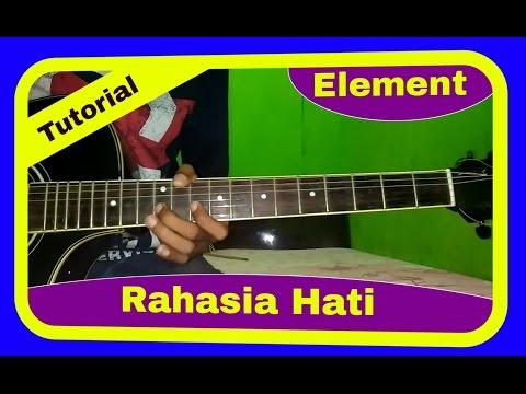 Belajar Melodi Gitar Element Rahasia Hati