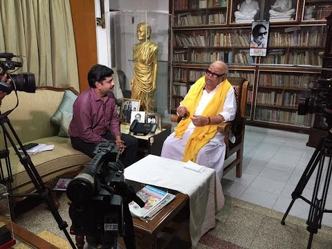 Spontaneous answers to Puthiya Thalaimurai TV by Kalaignar Karunanidhi
