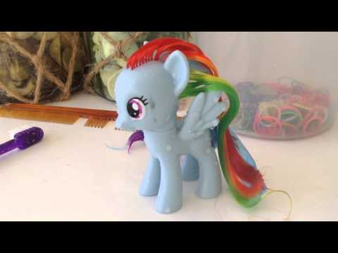 """how to clean your MLP""""s hair (kid safe!)"""