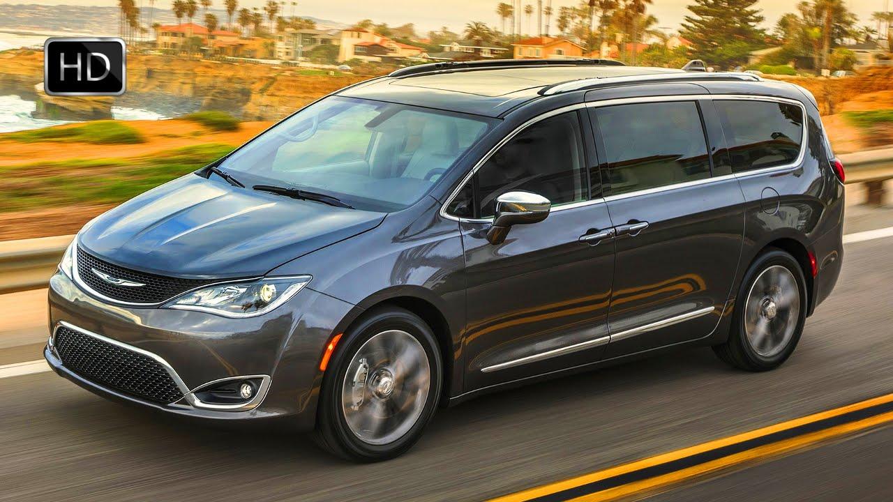 2017 Chrysler Pacifica Family Minivan Exterior Interior Design Drive Hd