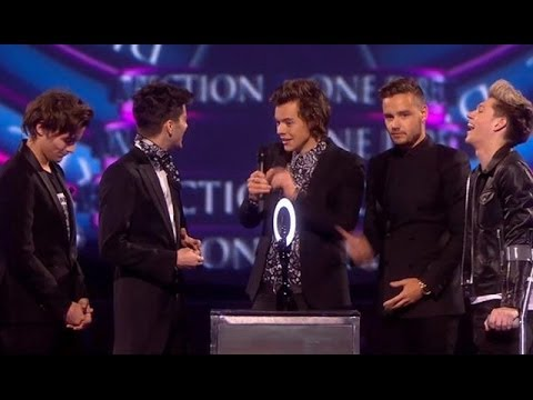 One Direction Diss Justin Bieber At Brit Awards 2014