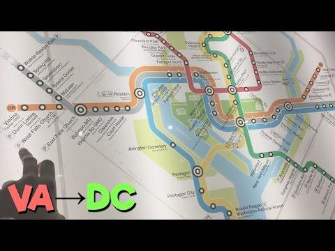 Exploring Falls Church, Virginia to Washington, DC! | Travel Vlog