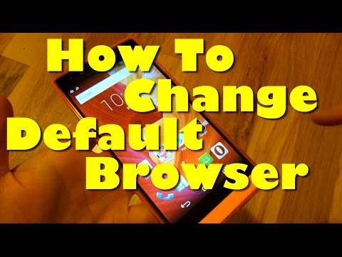 Android - How To Change Default Browser To Google Chrome From Opera