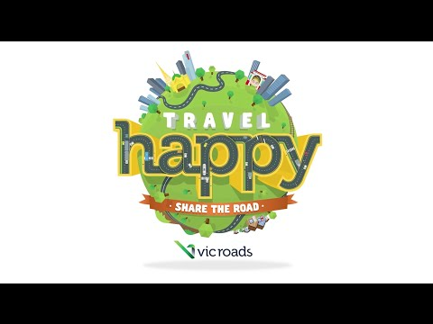 VicRoads 'Travel Happy' Share the Road campaign launch