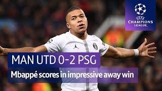 Manchester United vs PSG (0-2) | UEFA Champions League Highlights