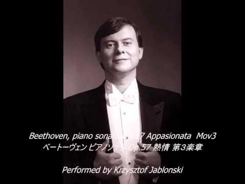 Beethoven, piano sonata Op.57 Appasionata(熱情) Mov3