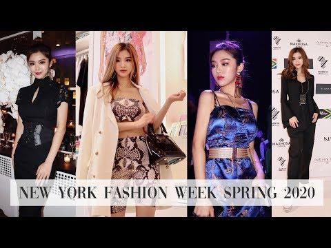 Joya's New York Fashion Week Spring 2020 | I met Karolina Kurkova, Miss Universe, Trump Jr