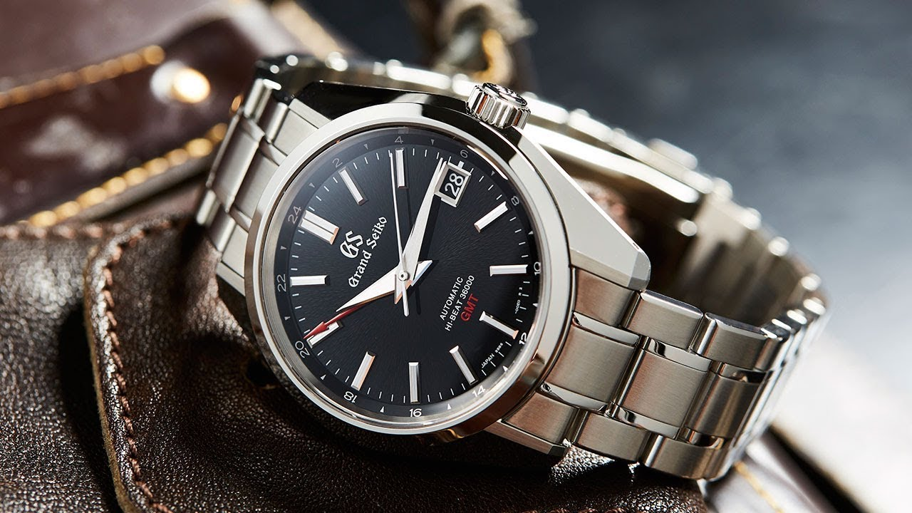 watch 6e7e8 89715 GRAND SEIKO – Hi-Beat GMT SBGJ203