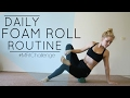 Daily Foam Roll Routine | MFit