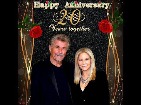 barbra streisand and james brolin happy wedding anniversary 20 years on july 01 2018