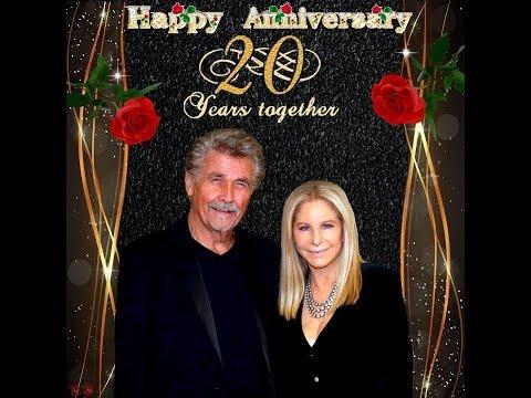 Barbra Streisand and James Brolin Happy Wedding Anniversary 20 Years on July 01, 2018.