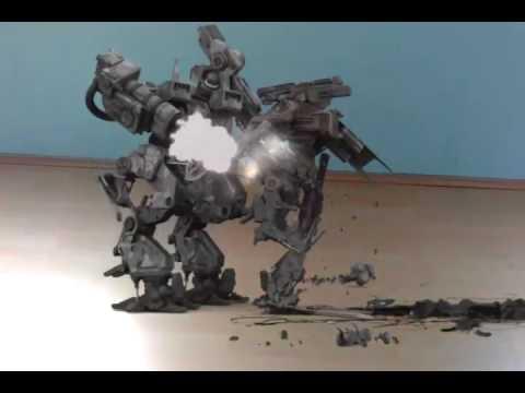 roboter kampf