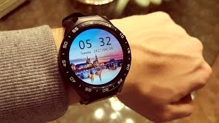 KingWear KW88 - Miglior Smartwatch Economico ANDROID 3G con FOTOCAMERA! - Recensione / Unboxing ITA