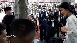 Gugur Bunga-Orchestra Pelajar Di saksikan Presiden Jokowidodo