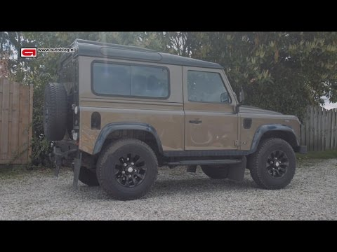 My car: Land Rover Defender 90 Rough