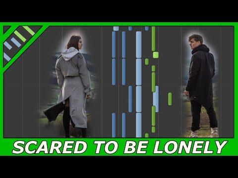 [EASY TUTORIAL] Martin Garrix & Dua Lipa - Scared To Be Lonely (Best piano tutorial)
